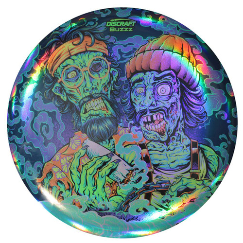 Discraft Buzzz - After Party - ESP Full Foil SuperColor Prism - | 5 | 4 | -1 | 1 | - Stable-Straight