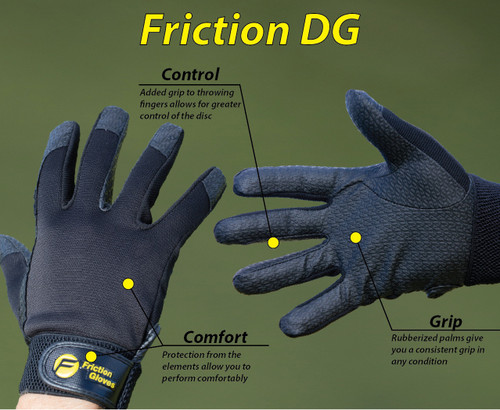 Friction Disc Golf Gloves