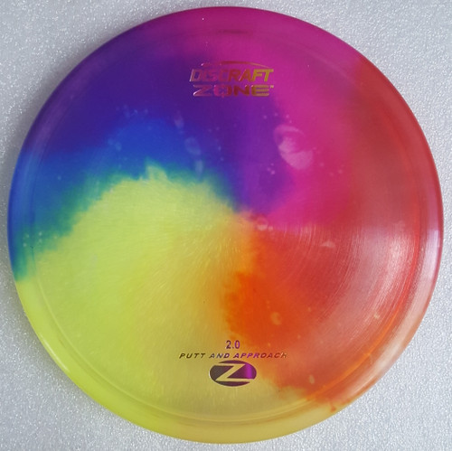 Disc dye design will vary.
