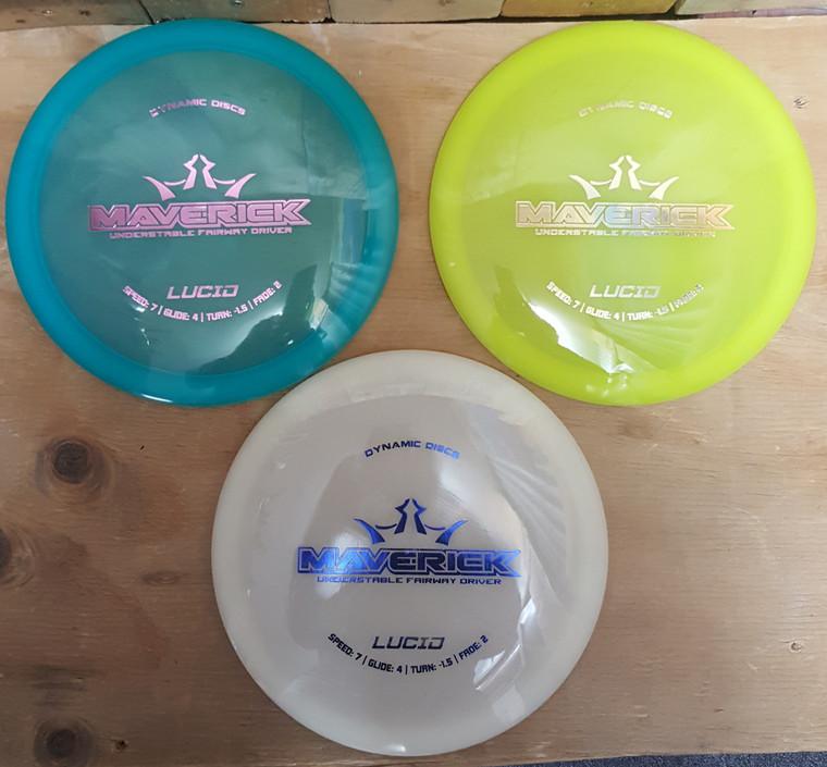Dynamic Discs Maverick - Lucid Line -   7   4   -1.5   2   - Stable-Straight