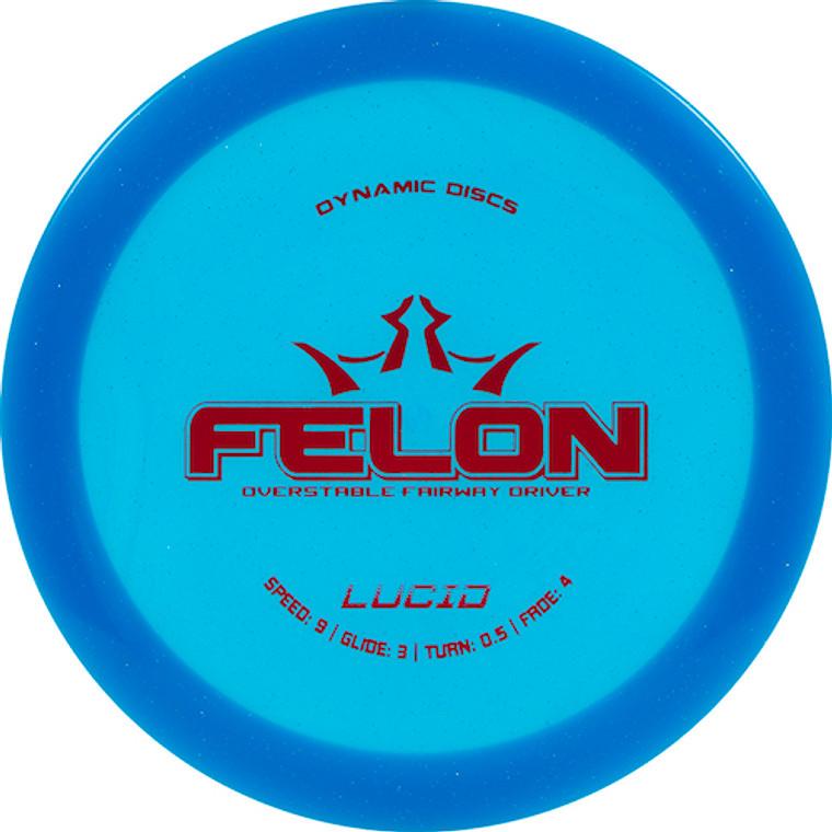 Dynamic Discs Felon - Lucid Line -   9   3   0.5   4   - Overstable