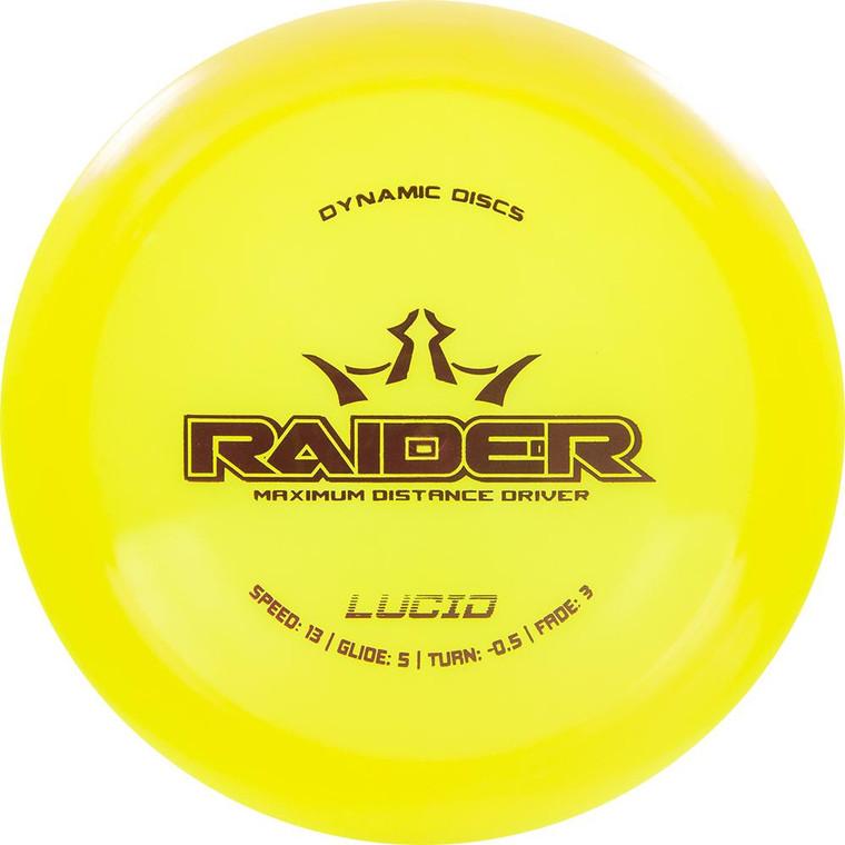 Dynamic Discs Raider - Lucid Line - | 13 | 5 | -0.5 | 3 | - Overstable
