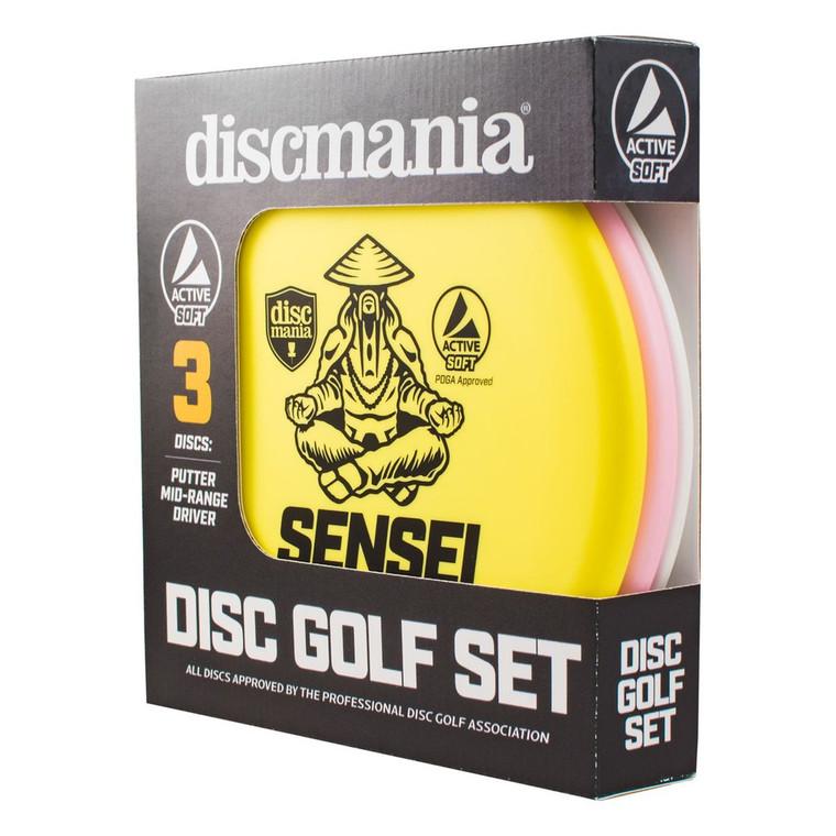 Discmania Starter Set - Active Soft Line 150g - Beginner - 3 Discs