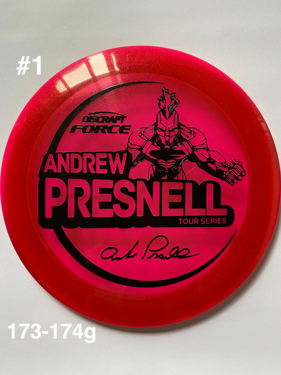 2021 Andrew Presnell Tour Series Force - | 12 | 5 | 0 | 3 | - Overstable - #1
