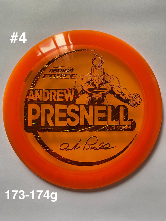 2021 Andrew Presnell Tour Series Force - | 12 | 5 | 0 | 3 | - Overstable - #4