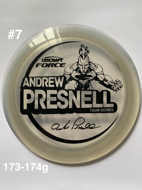 2021 Andrew Presnell Tour Series Force - | 12 | 5 | 0 | 3 | - Overstable - #7