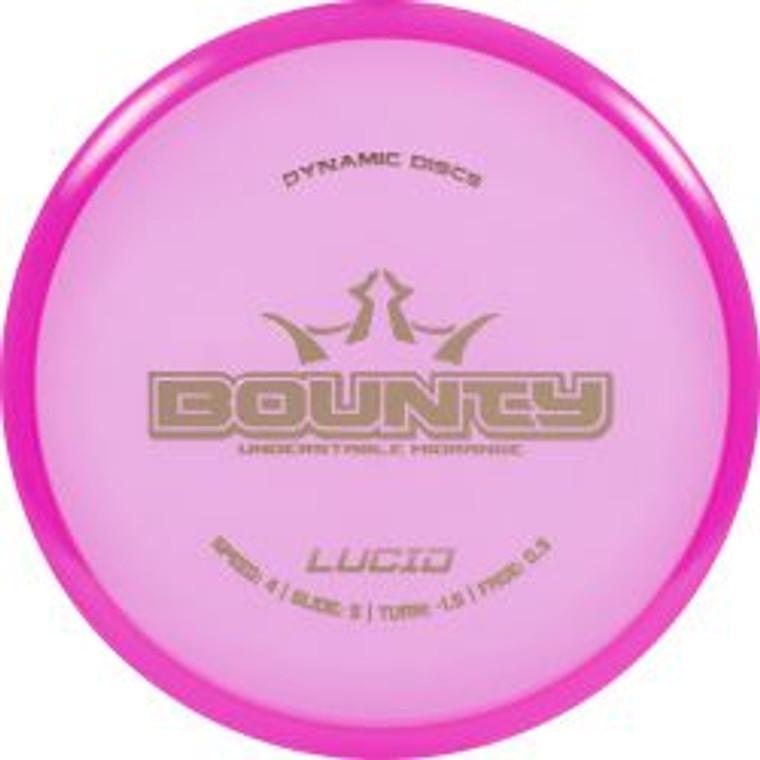 Dynamic Discs Bounty - Lucid Line - | 4 | 5 | -1.5 | 0.5 | - Overstable