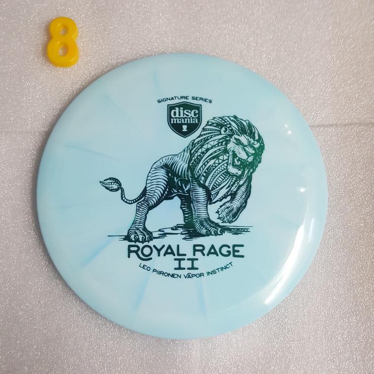 Discmania Instinct - Royal Rage 2  - Leo Piironen Signature Series - Lux Vapor Line -   7   5   0   2   - Slightly Overstable - #8 - 174g