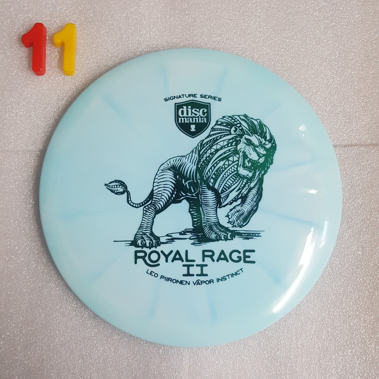 Discmania Instinct - Royal Rage 2  - Leo Piironen Signature Series - Lux Vapor Line -   7   5   0   2   - Slightly Overstable - #11 - 175g