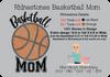 Rhinestone Basketball Mom