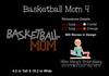 Rhinestone Basketball Mom 4