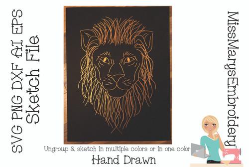 Sketch Lion File