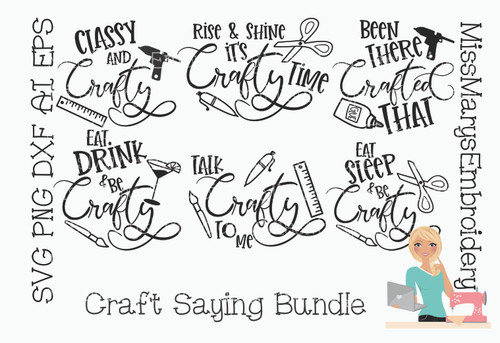 Crafty Saying Bundle