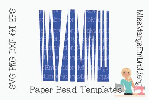 Triangle Bead Templates