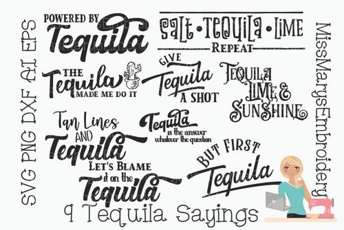 Tequila Bundle (9 Sayings)