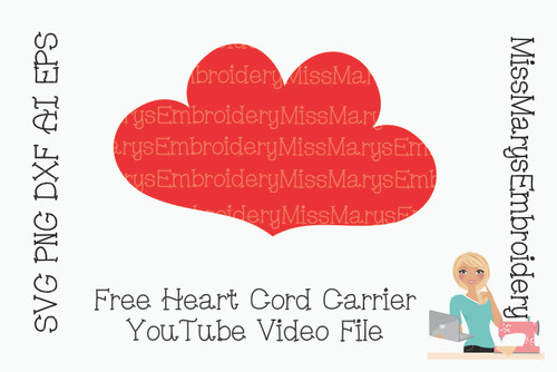Heart Cord Carrier (Free YouTube Video File)