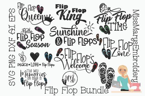 Flip Flop Bundle SVG