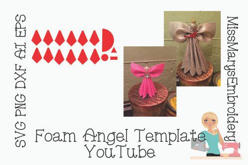 Free Foam Angel Template