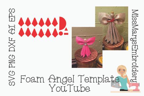 Free Foam Angel Template