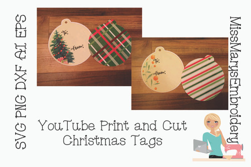 YouTube Gift Tag Files
