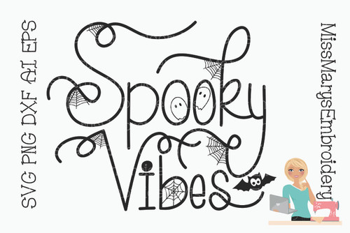 Spooky Vibes SVG