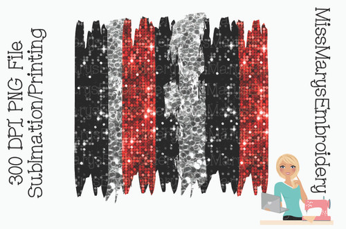 Red Black Silver Sublimation Background 1