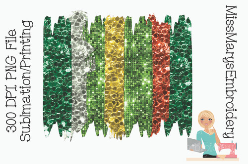 Glitter St. Patrick's Sublimation Background 3