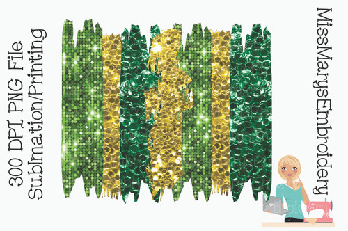 Glitter St. Patrick's Sublimation Background 4