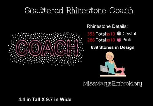 Scatter Coach Rhinestone