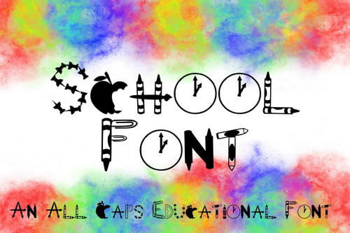 School Font TTF