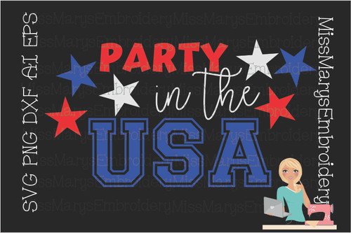 Party in the USA svg