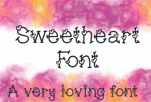 Sweetheart Font TTF