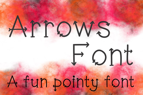Arrow Font TTF