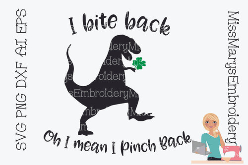 Bite Back Irish T-Rex
