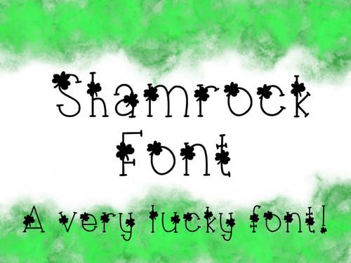 Shamrock Font