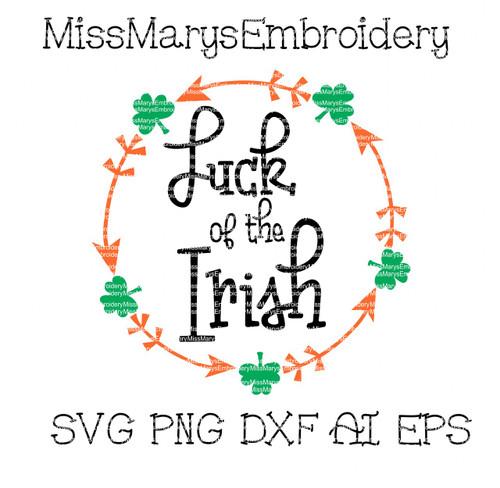 Luck of the Irish SVG