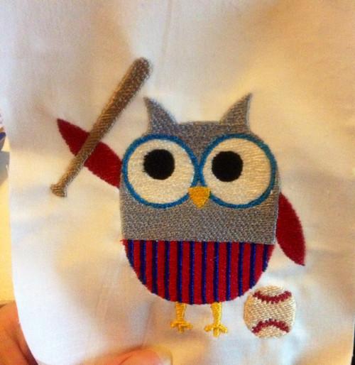 Baseball Owl