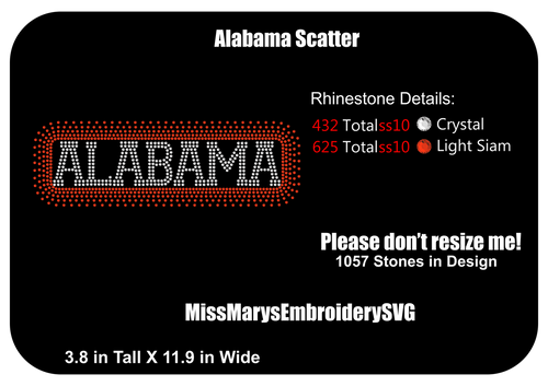 Scatter Alabama