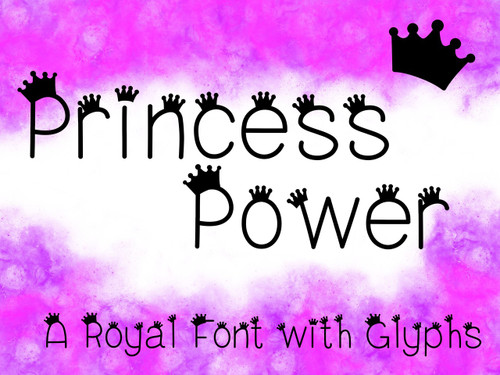 Princess Power Font