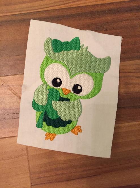St. Patrick's Day Shamrock Owl