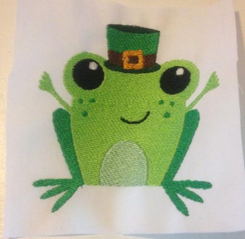 St. Patrick's Frog