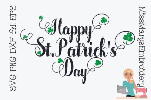 Happy St. Patrick's Day SVG