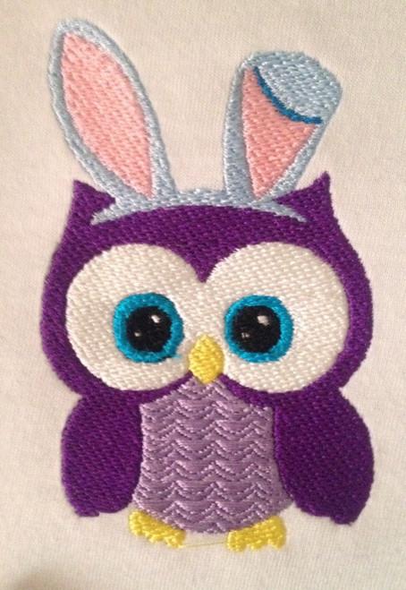 Easter Bunny Owl
