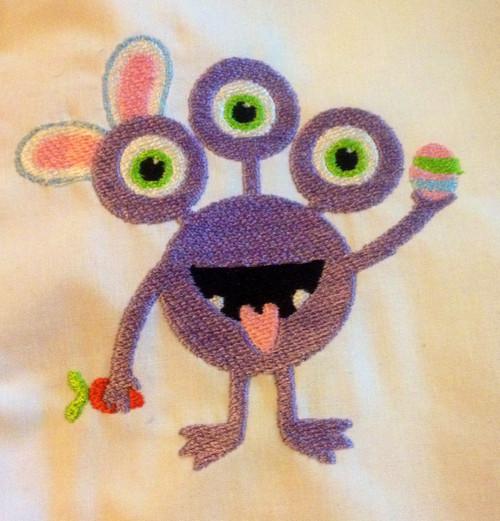 Easter Monster 1