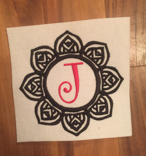Mandala Monogram 2