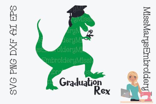 Graduation T-Rex