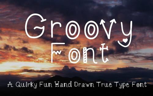 Groovy True Type Font