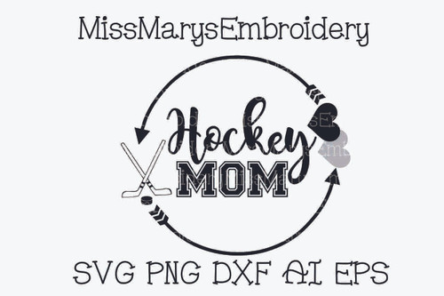 Hockey Mom SVG