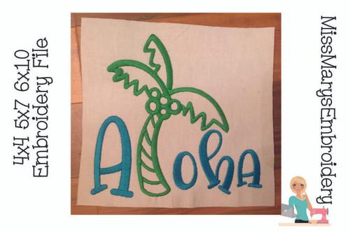 Aloha Embroidery