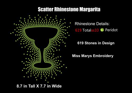 Scatter Margarita Rhinestone